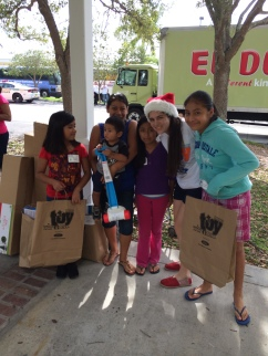 Amigos For Kids Annual Toy Drive, 2014