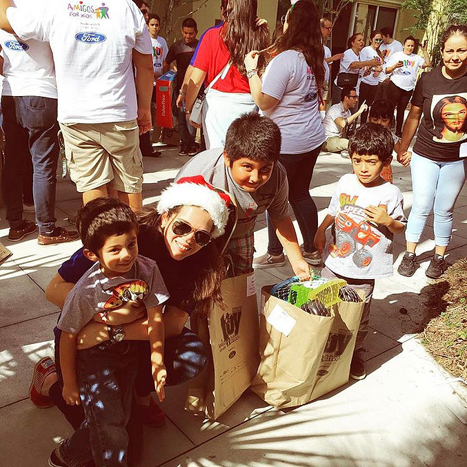 Amigos For Kids Anual Toy Drive, December 2015